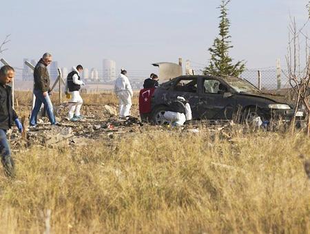 Ankara explosion coche bomba