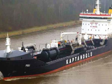 Barco petrolero kaptanoglu