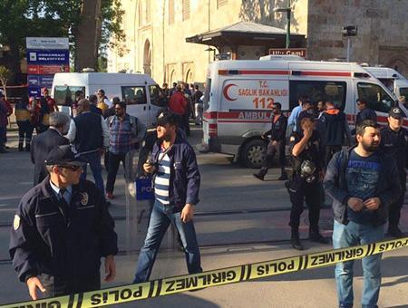 Bursa atentado bazar