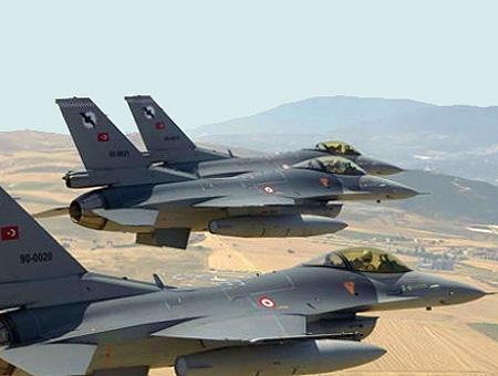 Cazas ejercito turco