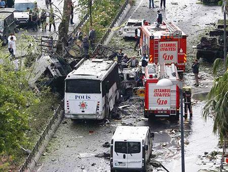 Estambul atentado explosion