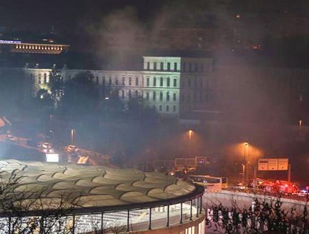 Estambul explosion vodafone arena