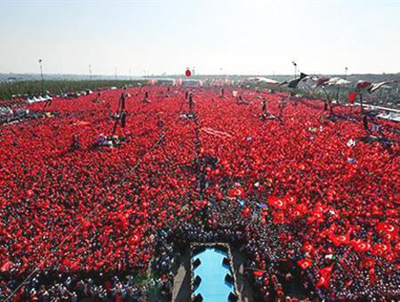 Estambul yenikapi manifestacion