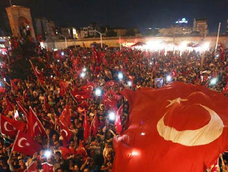 Golpe estado protesta taksim