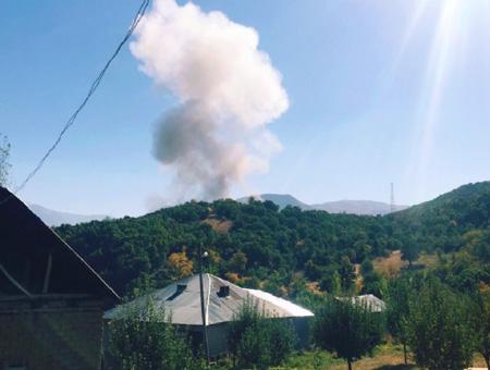 Hakkari explosion atentado