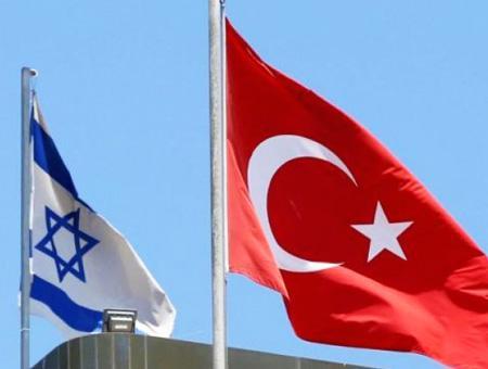 Israel turquia banderas
