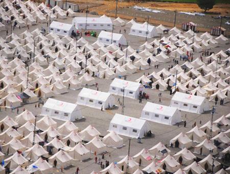 Refugiados campo turquia