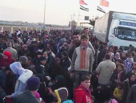 Refugiados frontera kilis