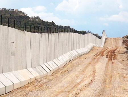 Siria muro fronterizo