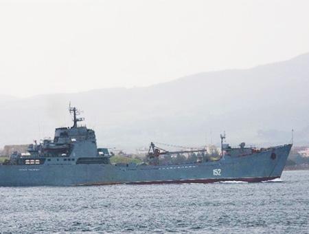 Barco guerra ruso