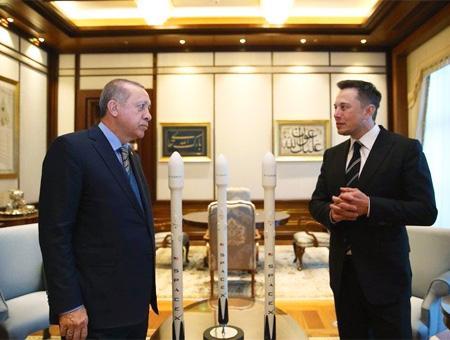Erdogan elon musk