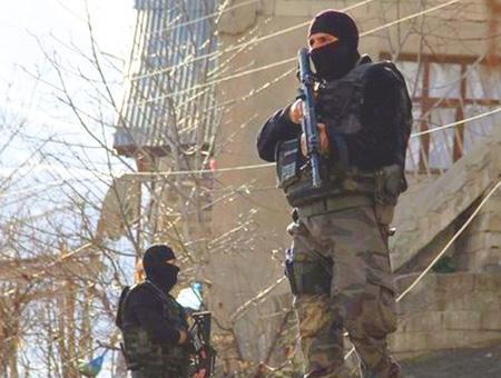 Fuerzas seguridad turcas operaciones