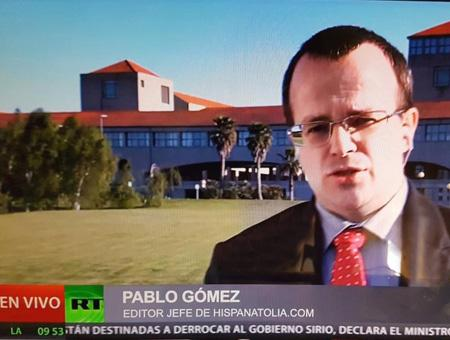 Pablo gomez entrevista rt