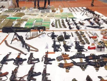 Pkk armas municiones incautadas