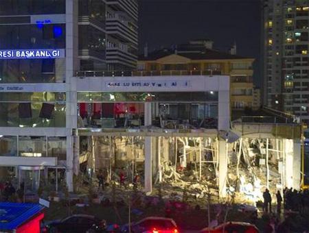 Ankara explosion agencia tributaria