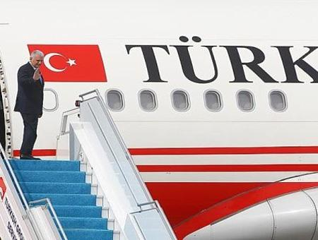 Binali yildirim viaje avion