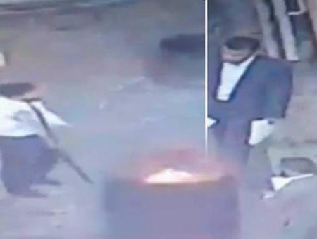 Consulado saudi quema documentos
