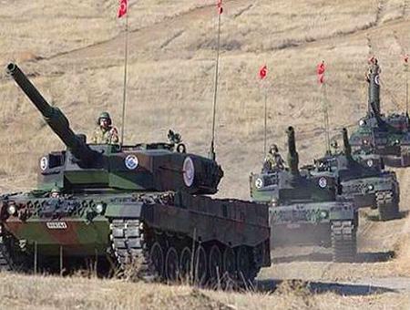 Ejercito turco operacion frontera