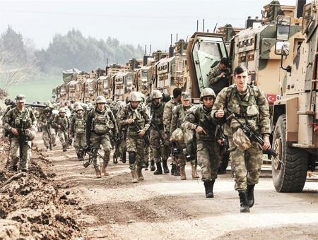 Fuerzas turcas toman la ciudad de Yandaris y se sitúan ya a sólo 10 km de Afrin