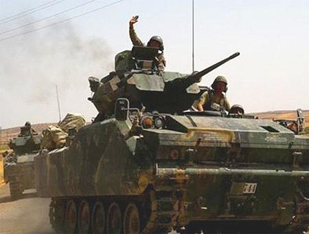 Tambores de guerra en la frontera turca