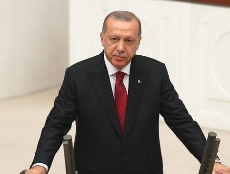 Erdogan discurso parlamento