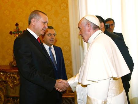 Erdogan papa francisco vaticano