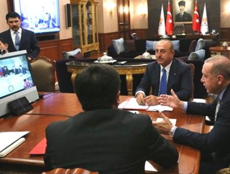 Erdogan teleconferencia maduro venezuela
