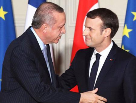 Francia macron turquia erdogan