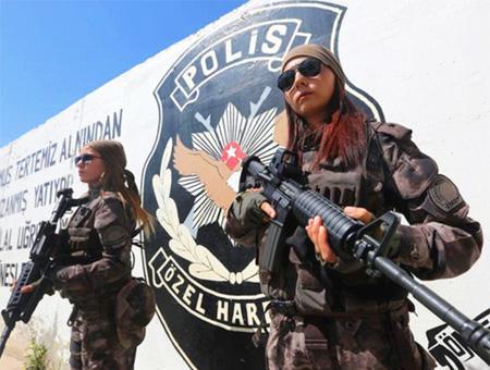 Policia fuerzas especiales mujeres