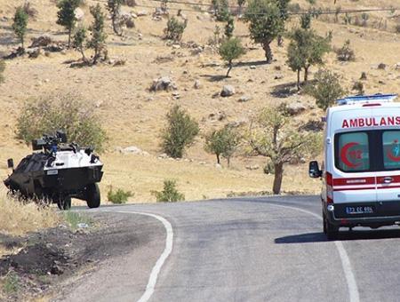 Sirnak atentado ambulancia
