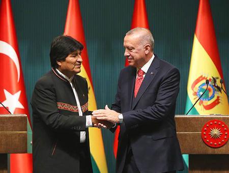 Bolivia morales turquia erdogan