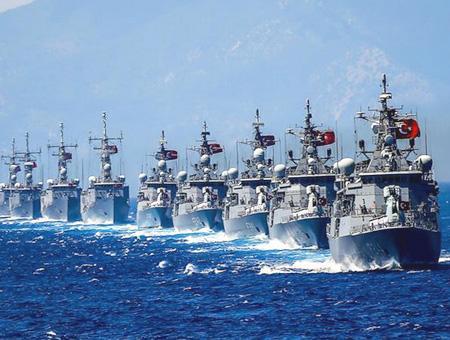 Ejercito turco maniobras militares