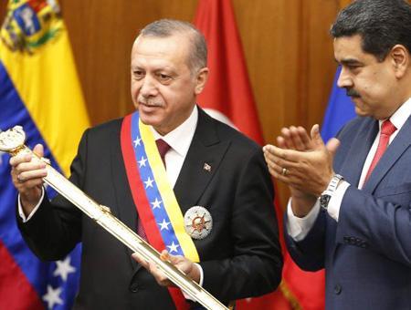 Erdogan maduro venezuela