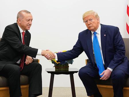 Erdogan trump g20 japon