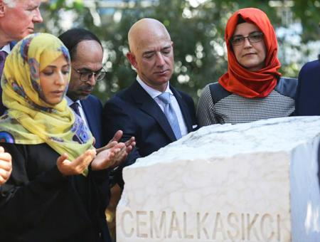 Estambul bezos homenaje khashoggi