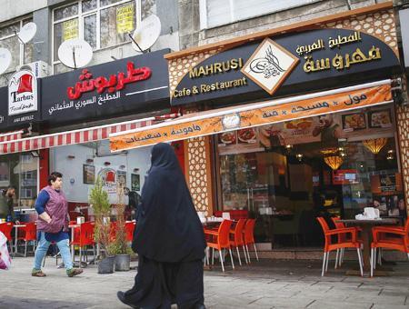 Estambul negocios refugiados sirios