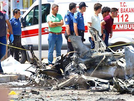 Hatay reyhanli coche bomba