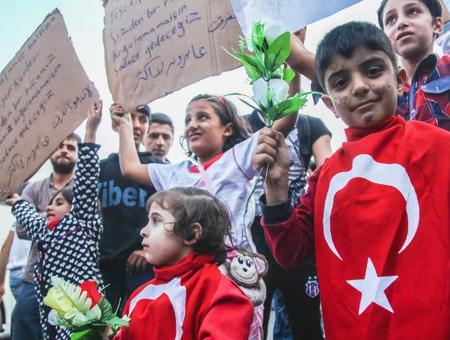 Turquia refugiados sirios