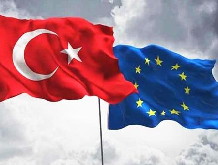 Turquia union europea banderas