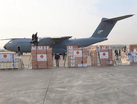 Ankara avion ayuda coronavirus espana