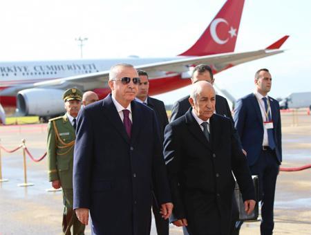 Argelia visita erdogan