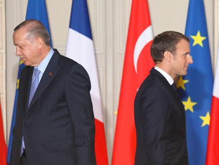 Erdogan turquia macron francia