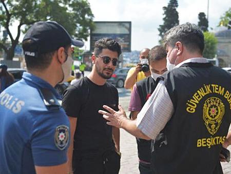 Estambul besiktas multas mascarilla