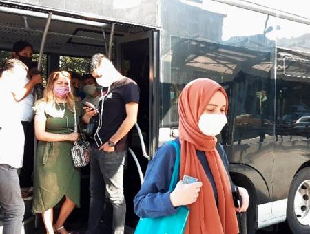 Estambul transporte publico coronavirus