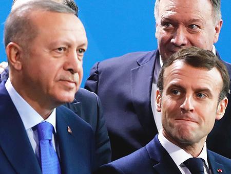 Turquia erdogan francia macron