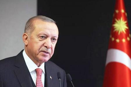 Presidente turco tayyip erdogan