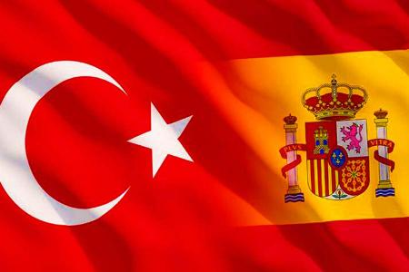 Turquia espana banderas