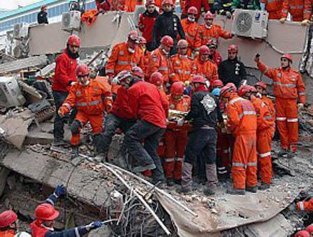 Rescate victimas van