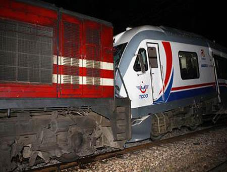 Accidente choque trenes