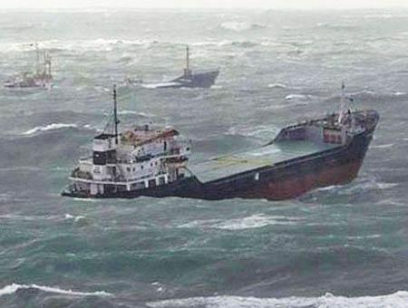 Barcos bosforo hundimiento